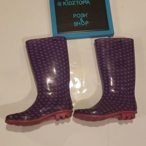 Other - ⚡4/$25 Girls Rain Boots